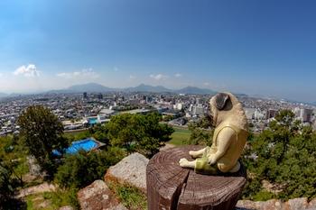 丸亀城からの眺め